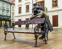 Socha Napoleona v Bratislavě