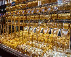 Trh se zlatem v zátoce Creek