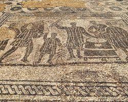 Působivé mozaiky v antické Ostii
