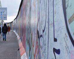 East side gallery zdobí pozůstatky Berlínské zdi