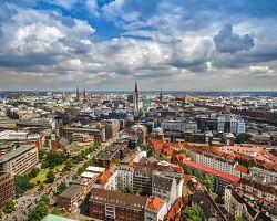 Panorama Hamburku