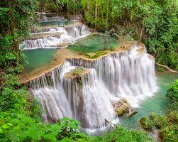 Vodopády v Kanchanaburi