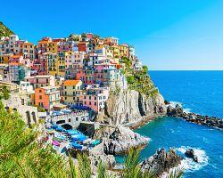 Krásný pohled na Cinque Terre