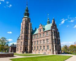Renesanční zámek Rosenborg, nacházející se v centru Kodaně