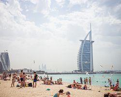 Plážový relax na Jumeirah Promenade