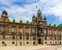 Působivá renesanční radnice v Malmö
