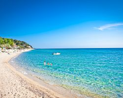 Bílé pláže Chalkidiki