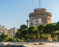 Bílá věž je symbolem města