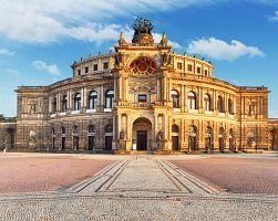 Semperova opera v Drážďanech