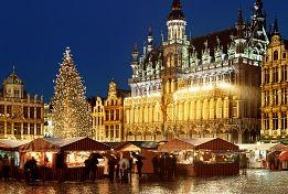Adventní Brusel, Bruggy, Gent a Antverpy (letecky z Bratislavy)