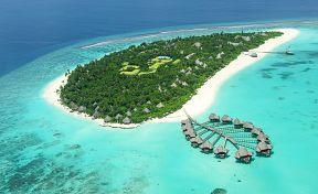 Ilustrace Maledivy