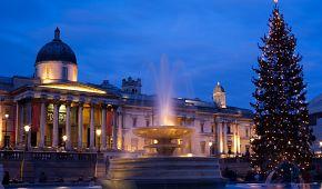 Vánoční Trafalgarské náměstí