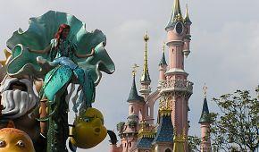 Pohádkový zámek v Disneylandu