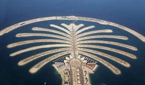 Umělý poloostrov Palm Jumeirah