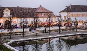 Atmosféra zámeckých vánočních trhů