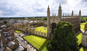 Prestižní univerzita v Cambridge