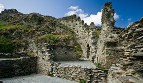 Pozůstatky hradu Tintagel