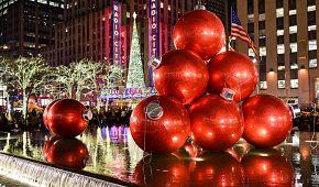Vánoční výzdoba v New Yorku