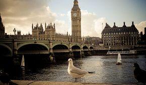 Proslulý londýnský Big Ben