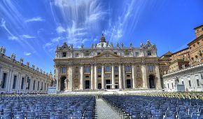 Trochu netradiční pohled na Vatikán