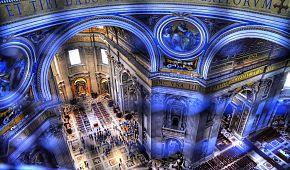 Interiér Vatikánských muzeí