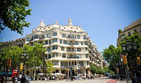 Gaudího Casa Milà