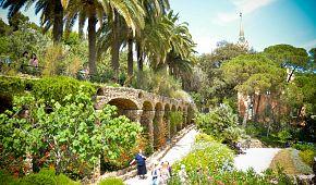 Úchvatný Gaudího park