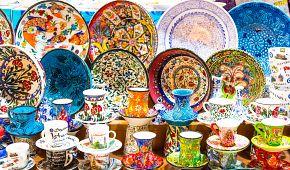 Typická turecká keramika