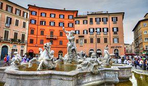 Slavné náměstí Piazza Navona