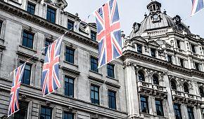 Londýnská výzdoba ulic