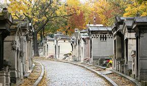 Nejkrásnější pařížský hřbitov Père-Lachaise
