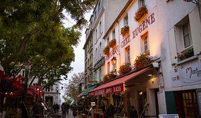 Malebný umělecký Montmartre