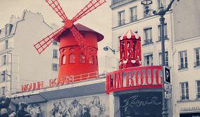 Slavný kabaret Moulin Rouge