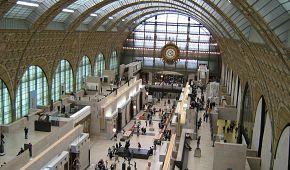 Interiéry muzea Orsay