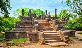 Město Polonnaruwa je na seznamu světového dědictví UNESCO