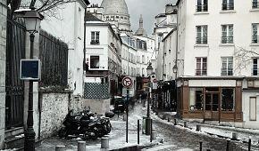 Montmartre má v zimě neodolatelné kouzlo