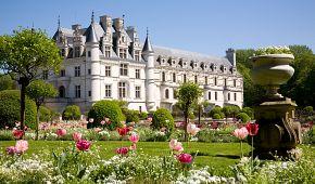 Nádherný zámek a zámecké zahrady Chenonceau
