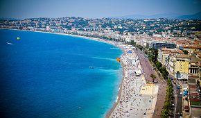 Kouzelné azurové pláže v Nice