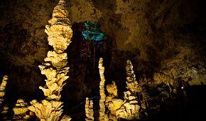 Nádherné jeskyně Aven d´Orgnac