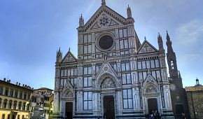 Proslulá bazilika Santa Croce