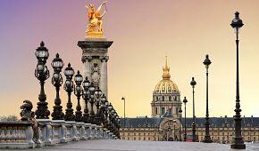 Nejkrásnější pařížský most Alexandra III.
