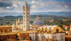 Dominantní katedrála Duomo di Siena