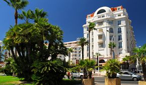 Luxusní hotel na třídě Croisette v Cannes