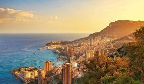 Panorama slavného Monte Carla