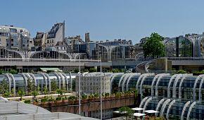 Úchvatné exteriéry obchodního domu Les Halles