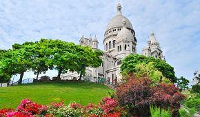 Voňavý Montmartre s bazilikou Sacré Coeur