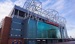 Stadion Old Trafford v Manchesteru