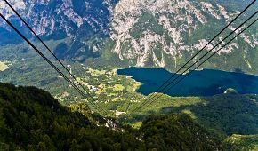 Cesta lanovkou na horu Vogel