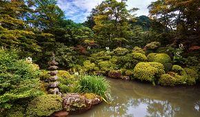 Tradiční japonská zahrada v Nikkó