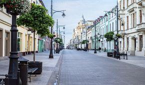 Ulice Piotrkowska je dlouhá čtyři kilometry